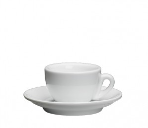 Espressotasse Roma (Weiß)