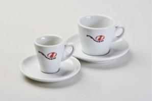 inpunto Espressotasse mit Logo