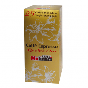 Caffe Molinari Oro Pads (25 Stck)