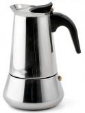 Espressokocher aus Edelstahl 4er