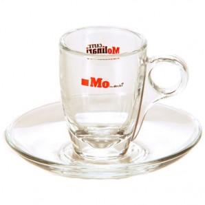 Espressotasse aus Glas von Molinari (6 Stck)